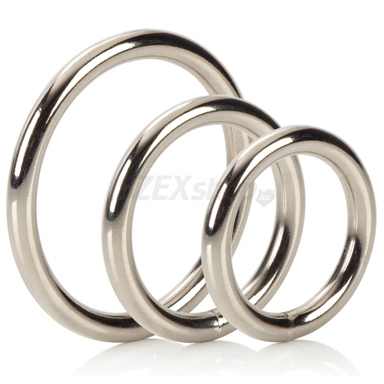Bad Kitty - fém péniszgyűrű szett (5 részes) - Péniszgyűrűk - Ft | Vágyaim Szexshop