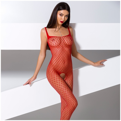 Bodystocking BS071 - piros